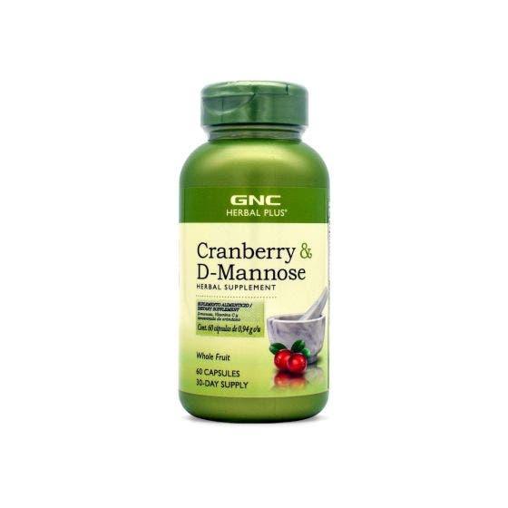 GNC Herbal Plus Arándano y D-manos - 60 Capsulas