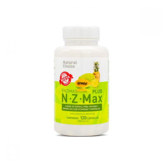 Natural Choice Enzimas N Z Max Plus
