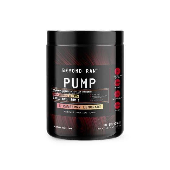 Beyond Raw Pump Sabores Mixtos - 289 Gramos