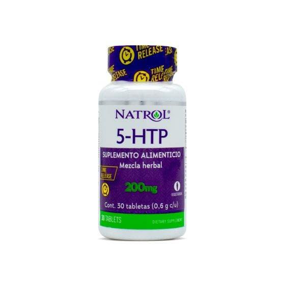Natrol Inc. 5-HTP 200 Mg - 30 Tabletas
