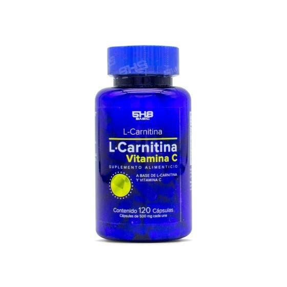 5H8 L-Carnitina Vitamina C - 120 Capsulas