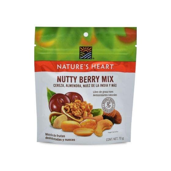 Terrafertil Nature´s Heart Nutty Berry Mix - 70 Gramos