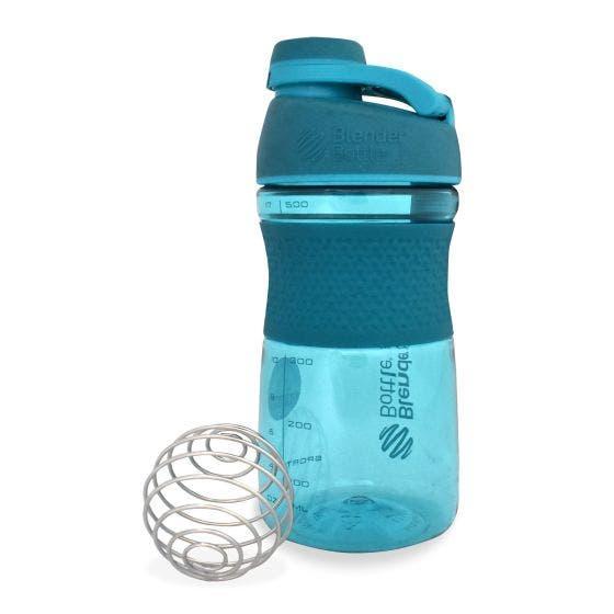 Blender Bottle Shaker Deportivo Turquesa - 20 oz