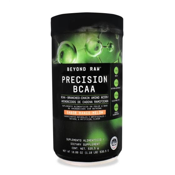 Beyond Raw Precision BCAA Aminoácidos Ramificados Mango y Melón - 535.5 gr