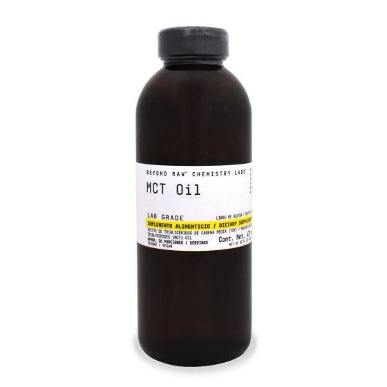 Beyond Raw Chemistry Labs Aceite MCT