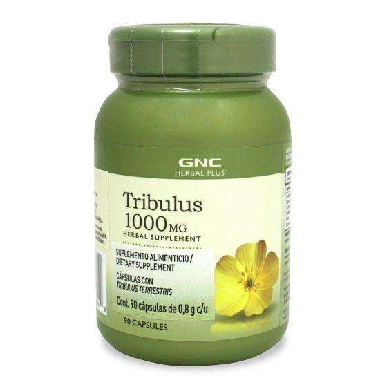 GNC Herbal Plus Tribulus 1000 mg - 90 Cápsulas