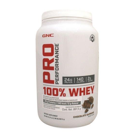 GNC Pro Performance 100 % Whey Proteína de suero de leche - Chocolate