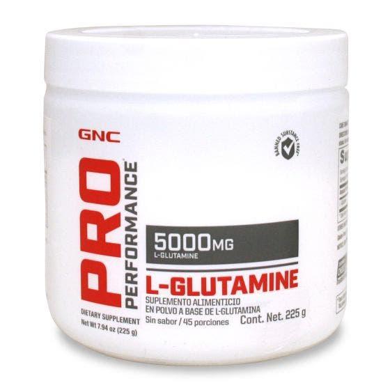 GNC Pro Performance L-Glutamina 5000 mg - 225 gr