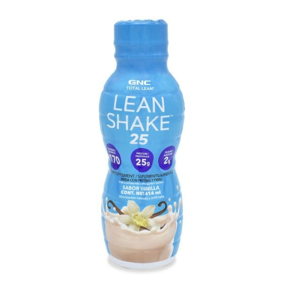 GNC Total Lean Bebida Lean Shake Vainilla - 14 oz