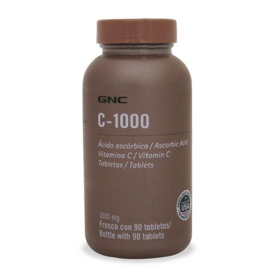 GNC C-1000 Vitamina C 1000 mg