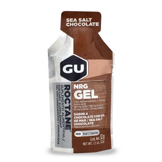 GU Gel Roctane Cholocate Sal de mar - 32 gr