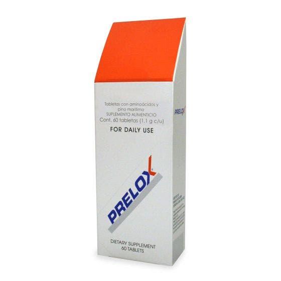 Prelox aminoácidos y extracto de corteza de pino marítimo - 60 Tabletas
