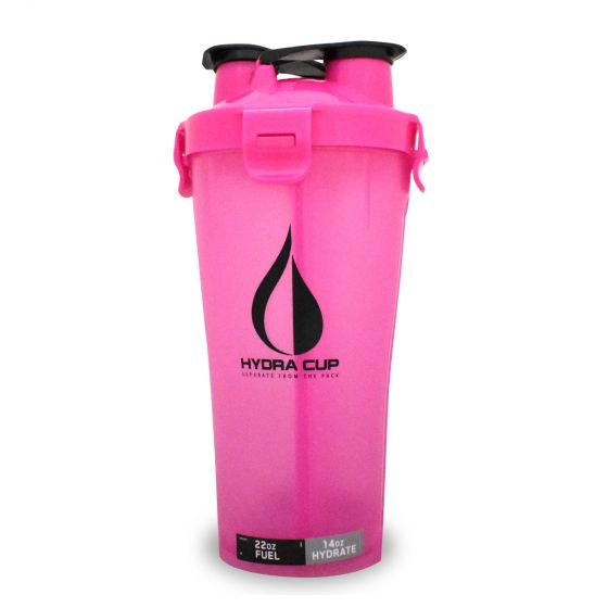 Hydracup Dual Shaker Pink - 22 y 14 oz