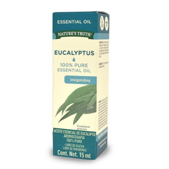 Nature's Truth Aceite Esencial de Eucalipto - 15 ml