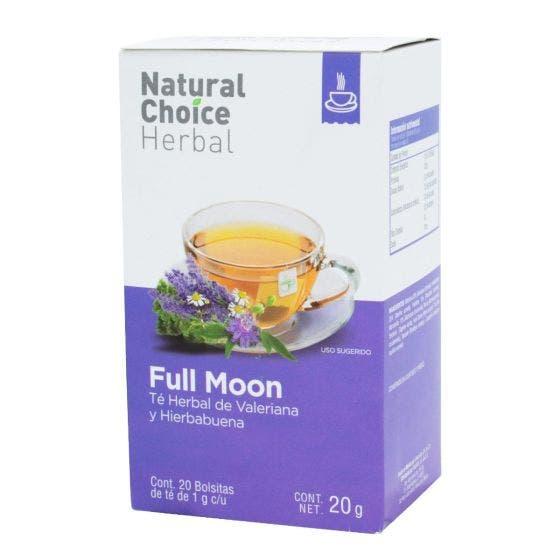 Natural Choice Herbal Té Full Moon con Valeriana y Hierbabuena