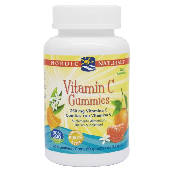 Nordic Naturals Vitamina C 250 mg Mandarina - 250 mg