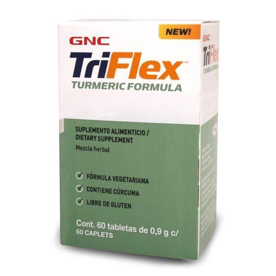 GNC Triflex Fórmulacon Cúrcuma - 60 Tabletas