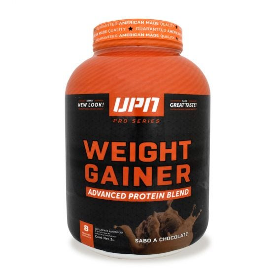 UPN Weight Gainer Mezcla de Proteínas alto en carbohidratos Chocolate - 4.4 lb